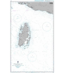 British Admiralty Nautical Chart 3246 Pulau-Pulau Aru with Part of the South West Coast of Papua