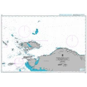 British Admiralty Nautical Chart 3248 North-West Papua and Adjacent Islands