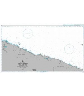 British Admiralty Nautical Chart 3250 Tanjong Narwaku (Cape D`Urville) to Wuvulu Island