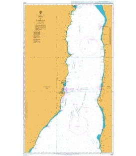British Admiralty Nautical Chart 3340 Gulf of Tartary
