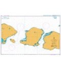 British Admiralty Nautical Chart 3706 Selat Lombok and Selat Alas