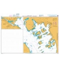 British Admiralty Nautical Chart 3712 Oslo and Approaches and Drammen