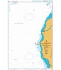 British Admiralty Nautical Chart 3720 Sungai Kapuas Kecil to Tanjung Bayung