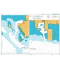 British Admiralty Nautical Chart 3724 Sattahip Commercial Port and Map Ta Phut Industrial Port