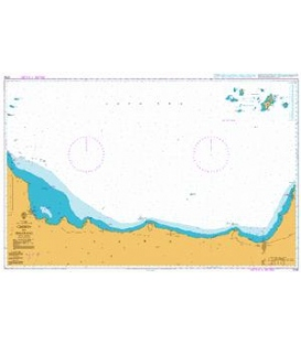 British Admiralty Nautical Chart 3730 Cirebon to Semarang