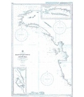 British Admiralty Nautical Chart 3742 Kaap Van Den Bosch to Patipi Baai
