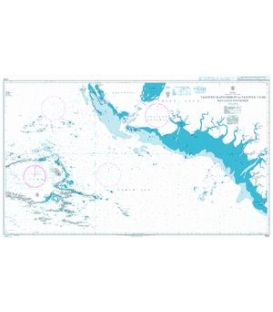 British Admiralty Nautical Chart 3744 Tanjung Kapatbogin to Tanjung Uaim including Batanme