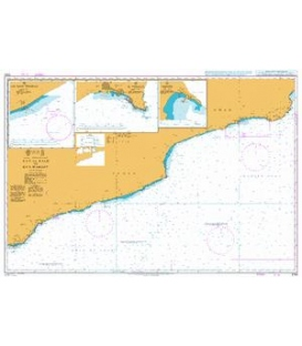 British Admiralty Nautical Chart 3784 Ra's Al Kalb to Ra's Marbat