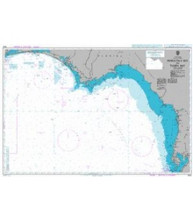 British Admiralty Nautical Chart 3852 Pensacola Bay to Tampa Bay