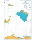 British Admiralty Nautical Chart 3907 Passages Between Mayaguana Island and Turks