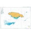 British Admiralty Nautical Chart 3936 Approaches to Jamaica