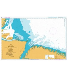 British Admiralty Nautical Chart 3959 Approaches to Rio Para and Rio Amazonas