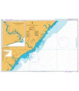 British Admiralty Nautical Chart 3977 Maceio to Aracaju