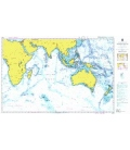 British Admiralty Nautical Chart 4005 A Planning Chart for the Indian Ocean