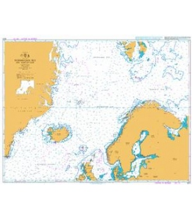 British Admiralty Nautical Chart 4010 Norwegian Sea and Adjacent Seas