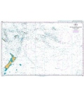British Admiralty Nautical Chart 4061 South Pacific Ocean - Western Portion