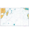 British Admiralty Nautical Chart 4070 Indian Ocean Southern Part