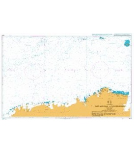 British Admiralty Nautical Chart 4075 Kapp Norvegia to Iles Kerguelen