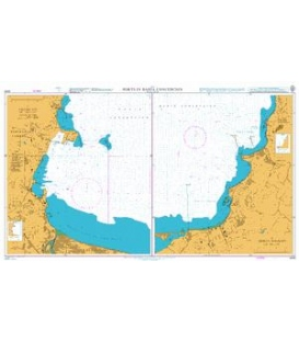 British Admiralty Nautical Chart 4248 Ports in the Bahia Concepcion