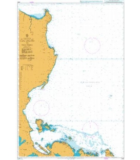 British Admiralty Nautical Chart 4412 Cape Engano to Yog Point