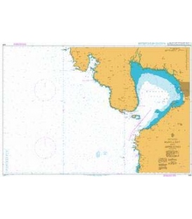 British Admiralty Nautical Chart 4491 Manila Bay and Approaches