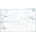 British Admiralty Nautical Chart 4606 Tonga to Archipel des Tuamotu