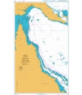 British Admiralty Nautical Chart 4620 Percy Isles to Booby Island including Gulf of Papua