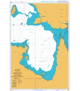 British Admiralty Nautical Chart 4720 Booby Island to Cape Wessel including Gulf of Carpentaria