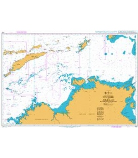 British Admiralty Nautical Chart 4721 Cape Wessel to Adele Island including adjacent waters