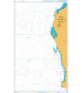 British Admiralty Nautical Chart 4725 North West Cape to Cape Leeuwin