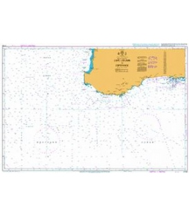British Admiralty Nautical Chart 4726 Cape Leeuwin to Esperance