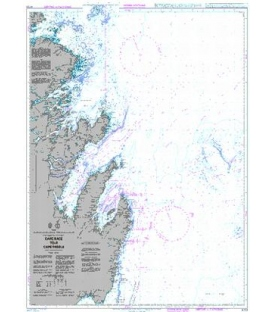 British Admiralty Nautical Chart 4733 Cape Race to/ A Cape Freels