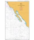 British Admiralty Nautical Chart 4802 United States and Mexico