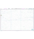 British Admiralty Nautical Chart 4808 Hawaii to the Clipperton Fracture Zone