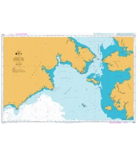 British Admiralty Nautical Chart 4814 Bering Sea Northern Part
