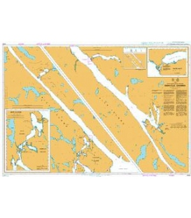 British Admiralty Nautical Chart 4932 Grenville Channel