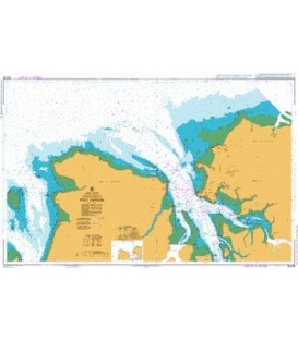 British Admiralty Australian Nautical Chart AUS26 Approaches to Port Darwin