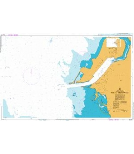 British Admiralty Australian Nautical Chart AUS 113 Port of Fremantle