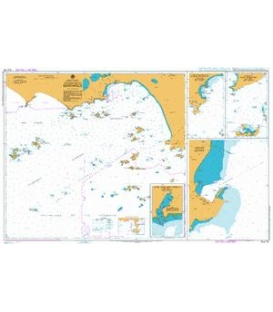 British Admiralty Australian Nautical Chart AUS119 Approaches to Esperance