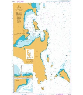 British Admiralty Australian Nautical Chart AUS134 Port Lincoln and Approaches