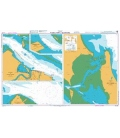 British Admiralty Australian Nautical Chart AUS244 South Trees Point to Auckland Point
