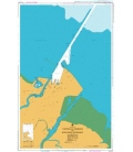 British Admiralty Australian Nautical Chart AUS257 Townsville Harbour and Ross River Entrance