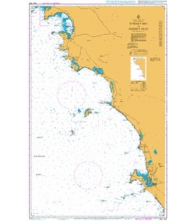 British Admiralty Australian Nautical Chart AUS342 Streaky Bay to Whidbey Isles