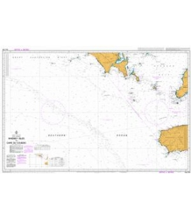 British Admiralty Australian Nautical Chart AUS343 Whidbey Isles to Cape Du Couedic