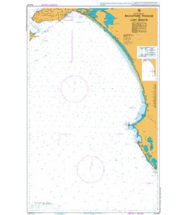 British Admiralty Australian Nautical Chart AUS347 Backstairs Passage to Cape Martin