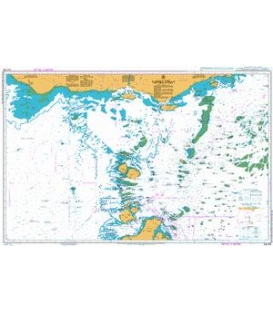 British Admiralty Australian Nautical Chart AUS376 Torres Strait