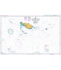 British Admiralty Australian Nautical Chart AUS383 Bonvouloir Islands to Woodlark Island