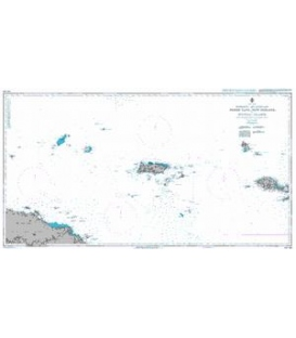 British Admiralty Australian Nautical Chart AUS462 North Cape, New Ireland, to Wuvulu Island
