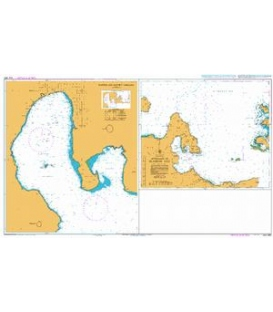 British Admiralty Australian Nautical Chart AUS680 Approaches to Blanche Bay