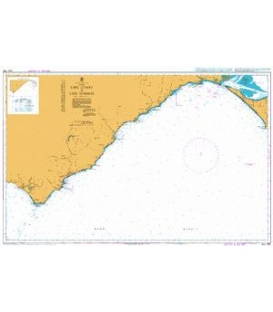 British Admiralty Australian Nautical Chart AUS 788 Cape Otway to Cape Schanck